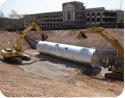 corrugated steel pipe rainwater harvesting