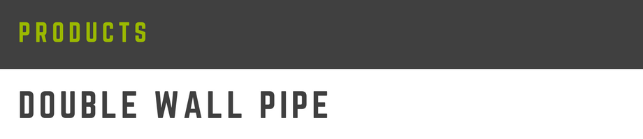 double wall pipe