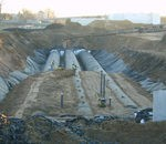 storm sewer treatment perforated corrugated steel pipe water treatment system