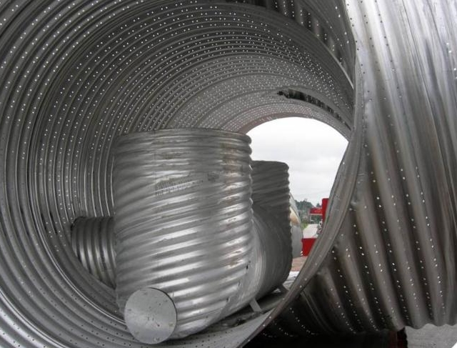 stormwater storage pipe
