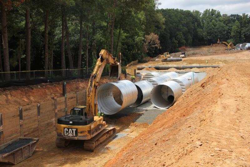 sandy springs gateway corrugated metal pipe sand filters