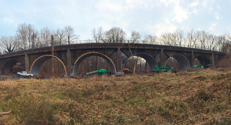 structural plate product culvert arches
