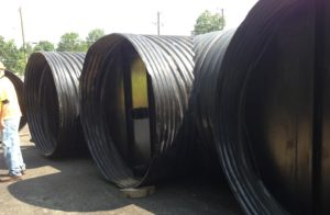 corrugated steel pipe sand filters