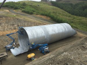 corrugated structural plate pipe