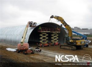 American Center for Mobility Test Track Structural plate project of the year