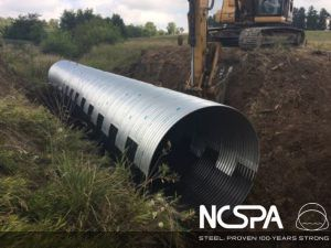 Guthrie Co IA Bridge Replacement csp & pipe arch project of the year