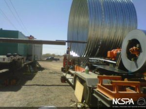 Large diameter pipe Kaiser aluminum pacific corrugated pipe cooling tank