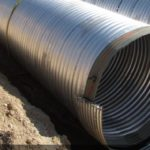 stormwater management underground corrugated metal detention system Metal Culverts Inc detention system