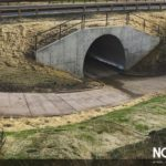 alternative to concrete box culvert structural plate pipe golf cart underpass TrueNorth Steel Rock Creek Golf Club