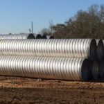 stormwater management spiral rib pipe drainage system