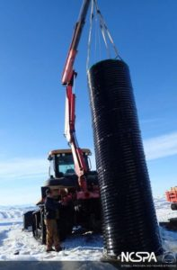 Culvert capabilities caisson sleeves polymer coated corrugated steel pipe