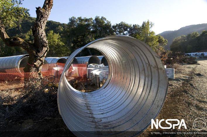 San Clemente Dam Spiral Rib Pipe Watershed Restoration