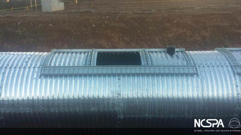 structural plate pipe buried plate pipe structural plate corrugated steel structural plate