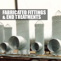 Fabricated Fittings and End Treatments Button