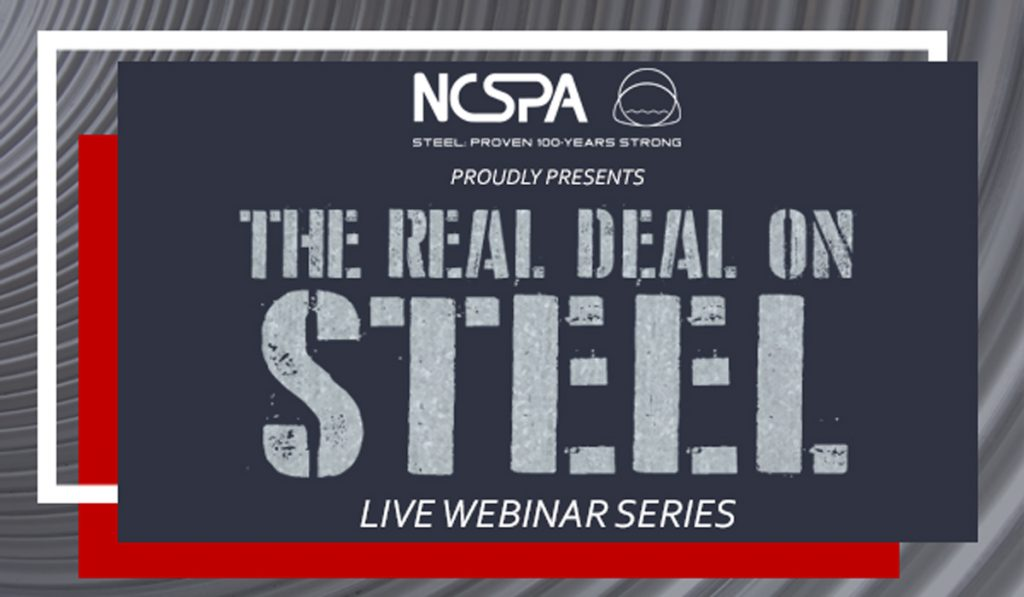 real deal on steel webinar PDH/LU credits