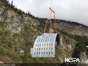 large span deep corrugated structural plate Buried Bridge