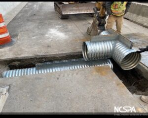 slotted drain pipe drainage improvements